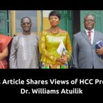 HCC Provost Dr. Williams Atuilik Shares Views