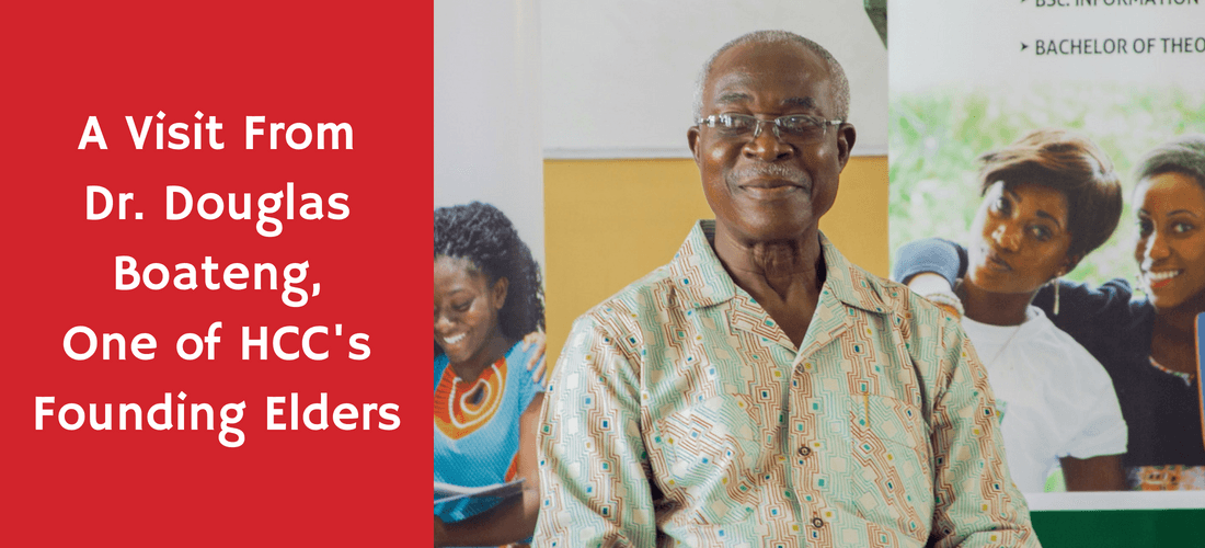 Visit From Dr. Douglas Boateng, an HCC Founding Elder