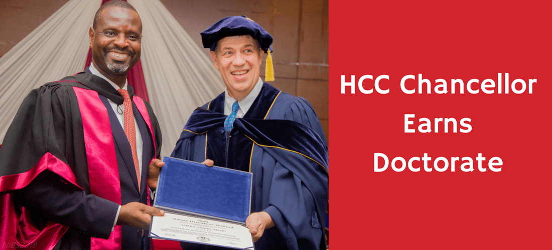 HCC Chancellor Earns Doctorate