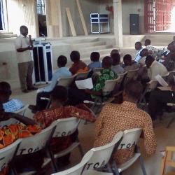 Bible Institute class