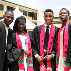 HCC Students at Matriculation.